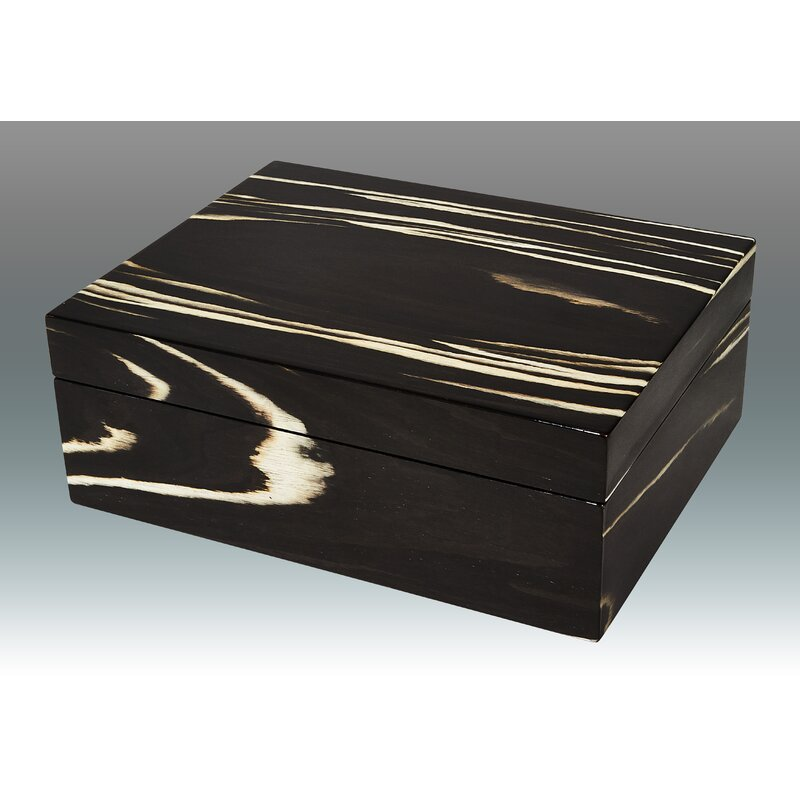 Tizo Zebra Empty Wood Decorative Box Wayfair