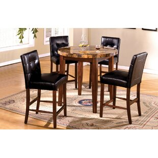 Husted 5 Piece Counter Height Dining Set