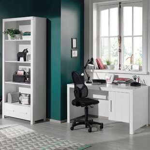 Eddy 2 Piece Desk Office Suite By Isabelle & Max