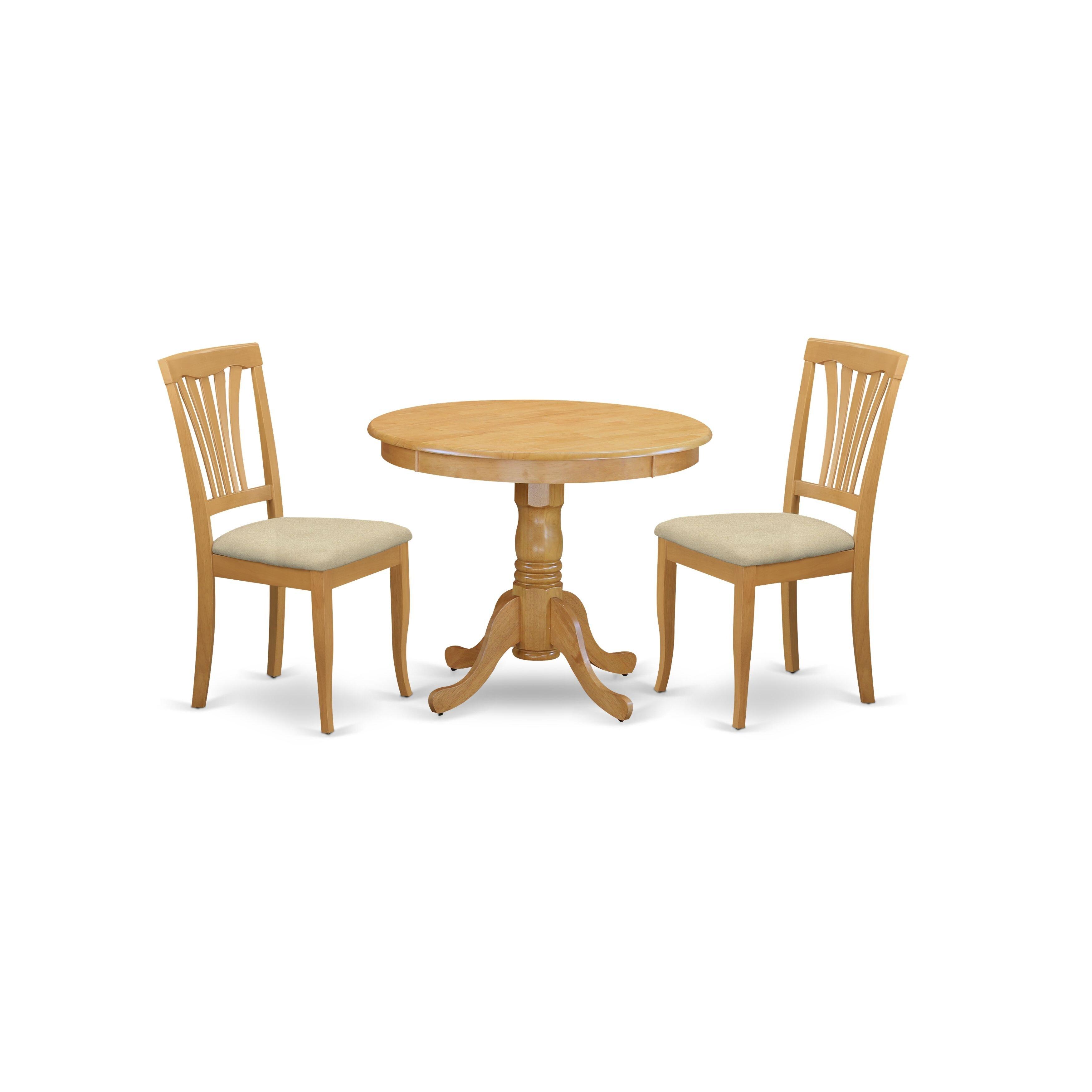 Charlton Home Stjohn 3 Piece Dining Set