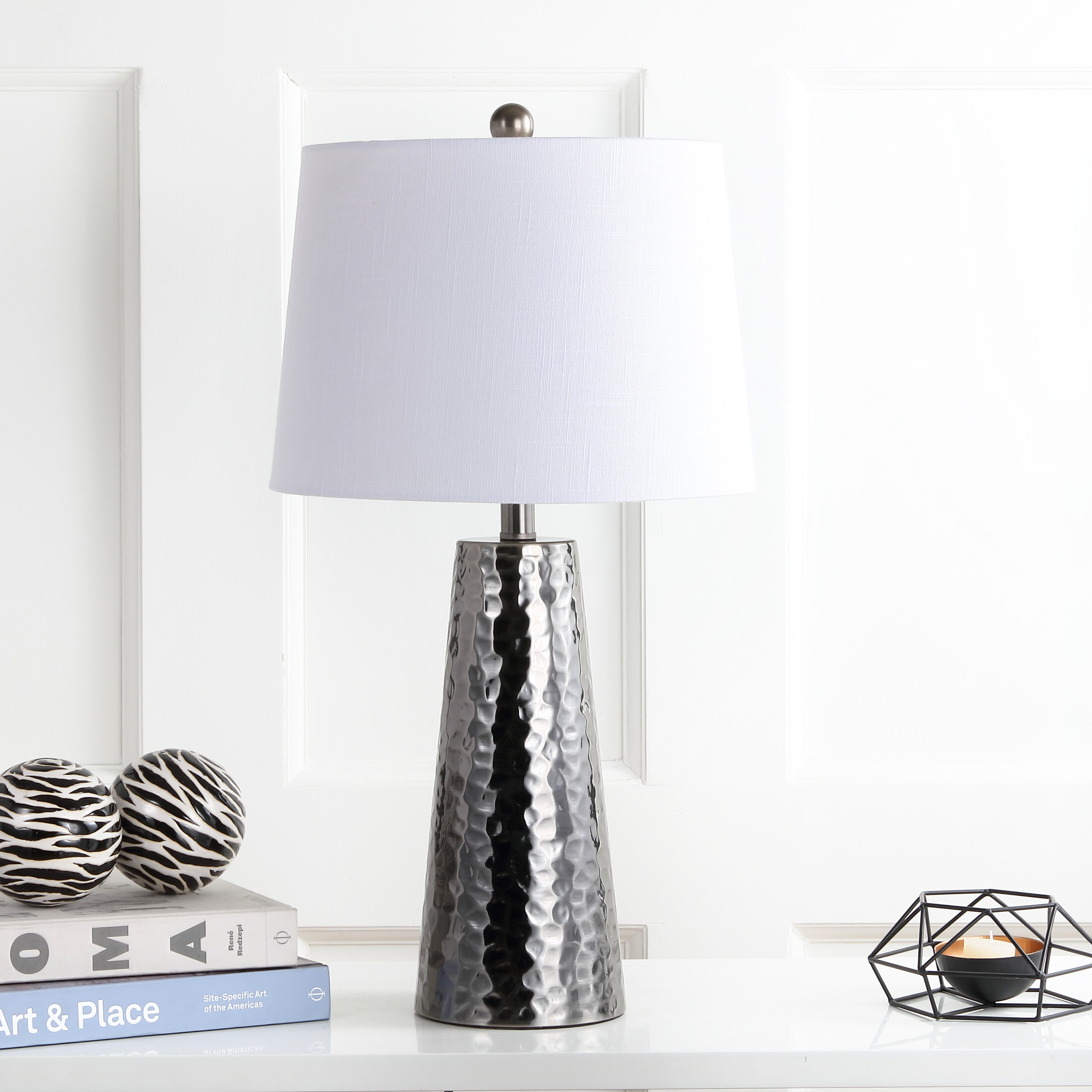 Hammered Metal Lamp Wayfair