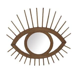 Terrones Eye-Shaped Wall Accent Mirror
