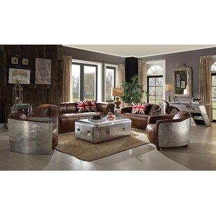 Industrial Living Room Sets You\'ll Love | Wayfair