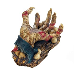Hansen Zombie Hand 1 Bottle Tabletop Wine Rack by The Holiday Aisle