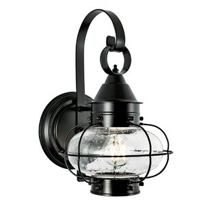 Reviews Chapple Onion Outdoor Wall Lantern By Longshore Tides
