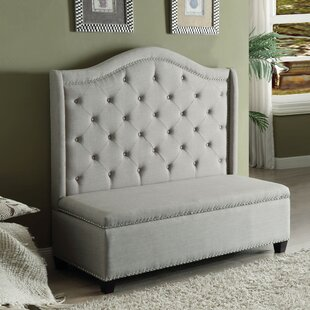 Darby Home Co Crouse Upholstered Storage ..