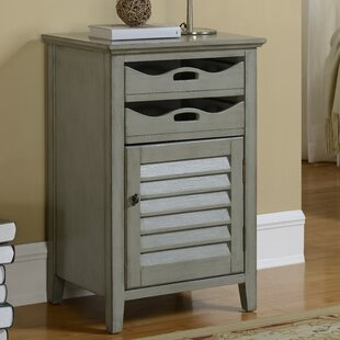 Hatchell 1 Door 2 Drawer Cabinet by August Grove