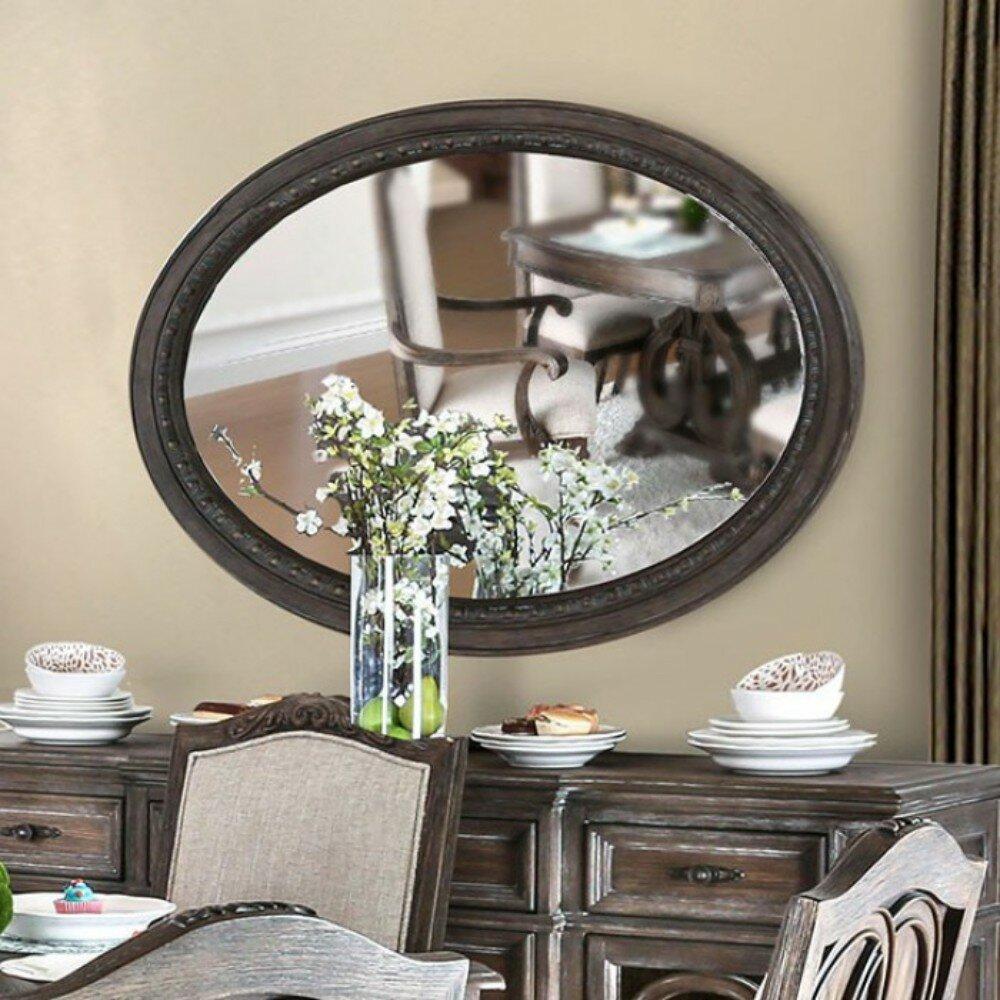Union Rustic Poulos Bathroom Vanity Mirror Wayfair