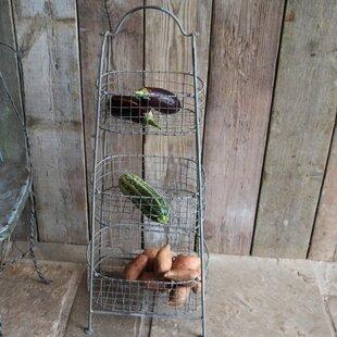 Beri Vegetable Shelving Rack by Nkuku