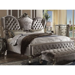 Astoria Grand Tanner Upholstered Panel Bed