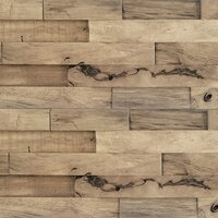 Deals on Allure Flooring Aja 5.87-in x 24-in Solid Wood Wall Paneling
