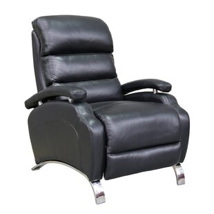 Sheron Leather Recliner by Latitude Run