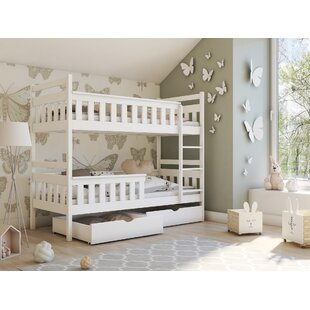 Dye Single (3') Bunk Bed With Drawers By Harriet Bee