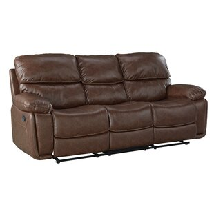 Menlo Reclining Sofa Red Barrel Studio
