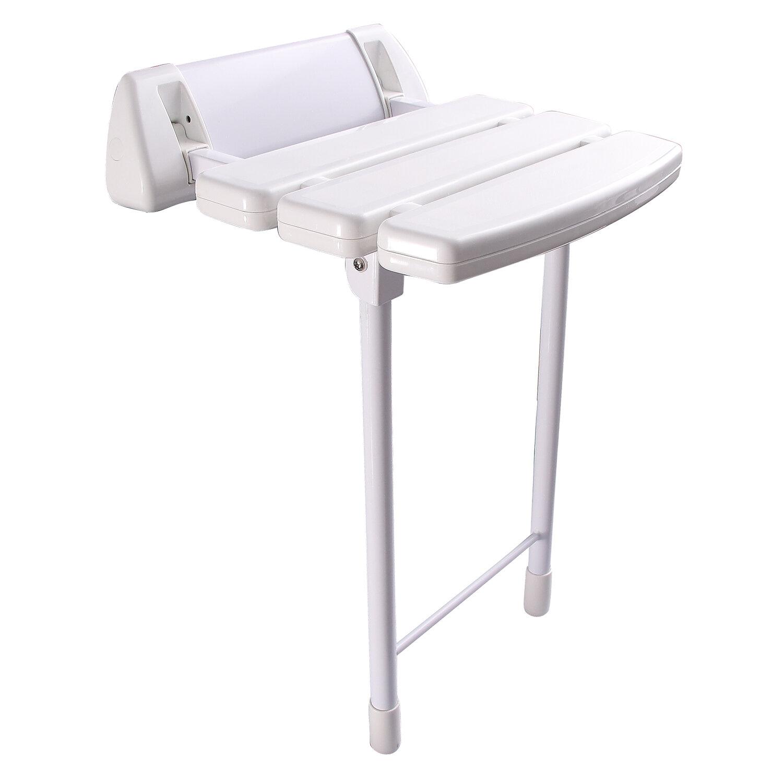 Metal Wall Mounted Shower Indoor Outdoor Foot Feet Leg Stool Rest Stand Footrest