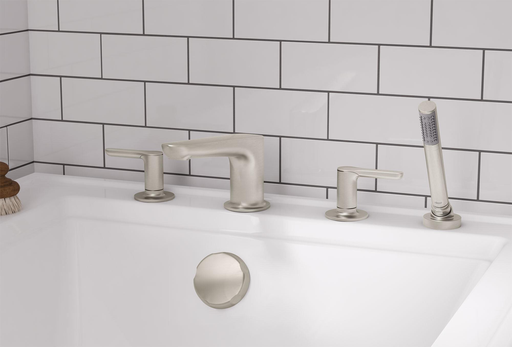 Dollhouse Miniature Bathroom Bath Shower Tap Waterfall Model Toy BILU