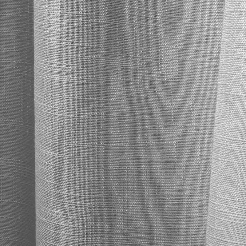 Red Barrel Studio Palni 100 Solid Blackout Thermal Grommet Curtain Panels Reviews Wayfair
