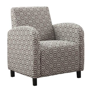 Hexagon Armchair by Monarch Specialties Inc.