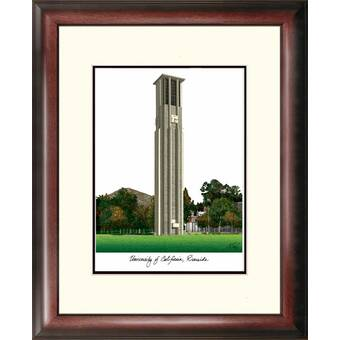 Campus Images Ncaa Hampton University Pirates Legacy Alumnus Lithograph Picture Frame Wayfair