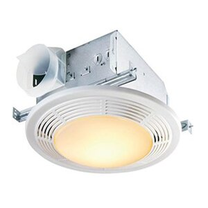 100 CFM Bathroom Fan with Light