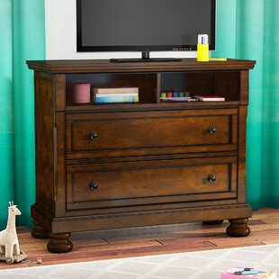 Seville 2 Drawer Media Chest by Three Posts