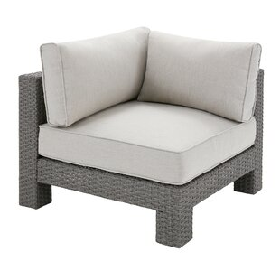 Latitude Run Danaher Outdoor Corner Chair with Cushion