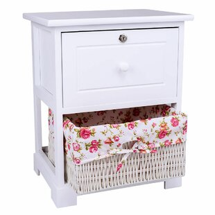 Vesta 1 Drawer Nightstand by August Grove Best Design