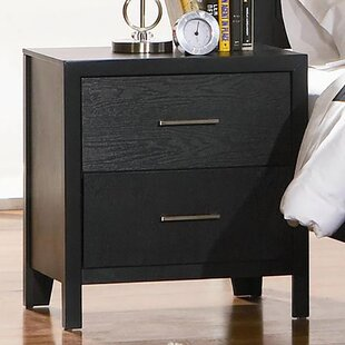 Latitude Run Lavallie 2 Drawer Nightstand