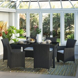 6 Seater Dining Set With Cushions Image