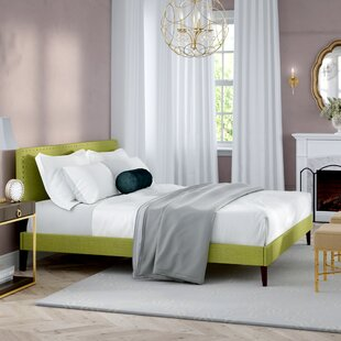 Inexpensive Clymer Upholstered Platform Bed by Mercer41 Reviews (2019) & Buyer's Guide