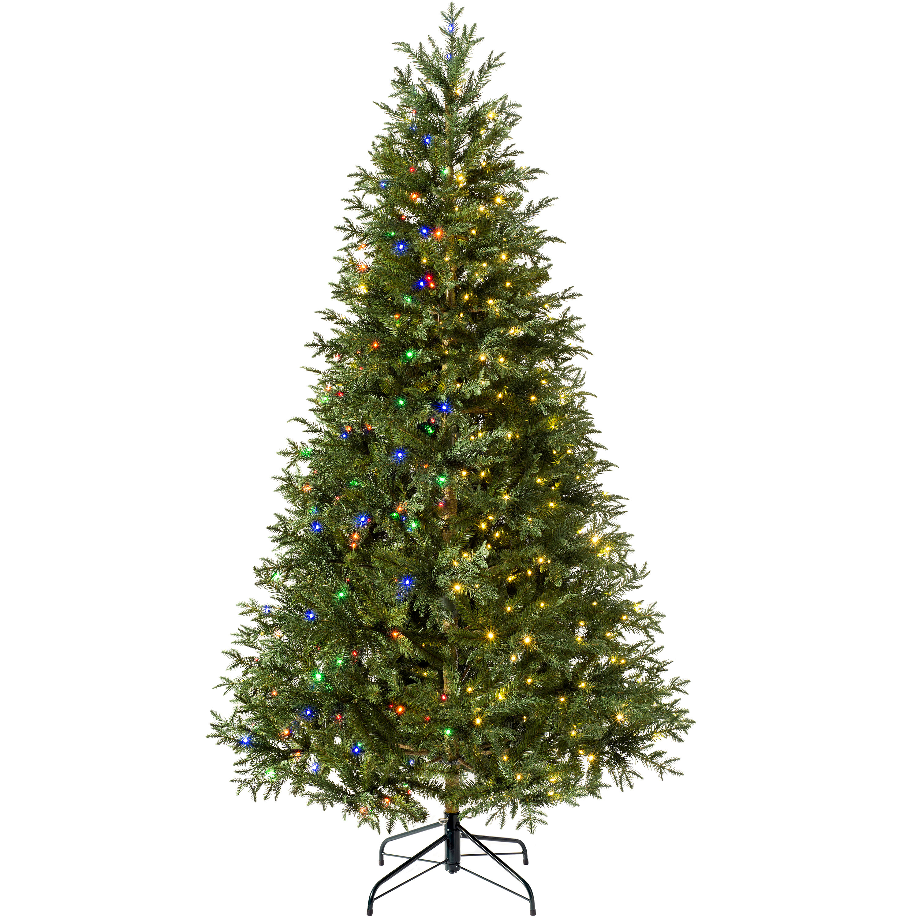 low priced f4fda 96525 6ft Green Pine Artificial Christmas Tree with 300 Coloured and White Lights