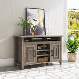 Catlin Solid Wood TV Stand for TVs up to 60 by Rosalind Wheeler