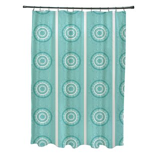 Rajashri Geometric Single Shower Curtain