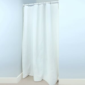 shower curtain for stall shower. PEVA Stall Shower Liner with Microban Single Curtain  Wayfair