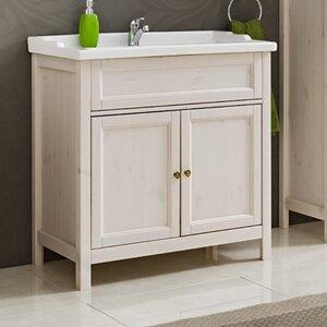Belfry Bathroom 78 cm Waschbeckenunterschrank Ro..
