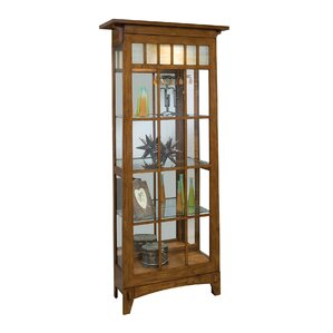 Roycroft Lighted Curio Cabinet by Philip ..