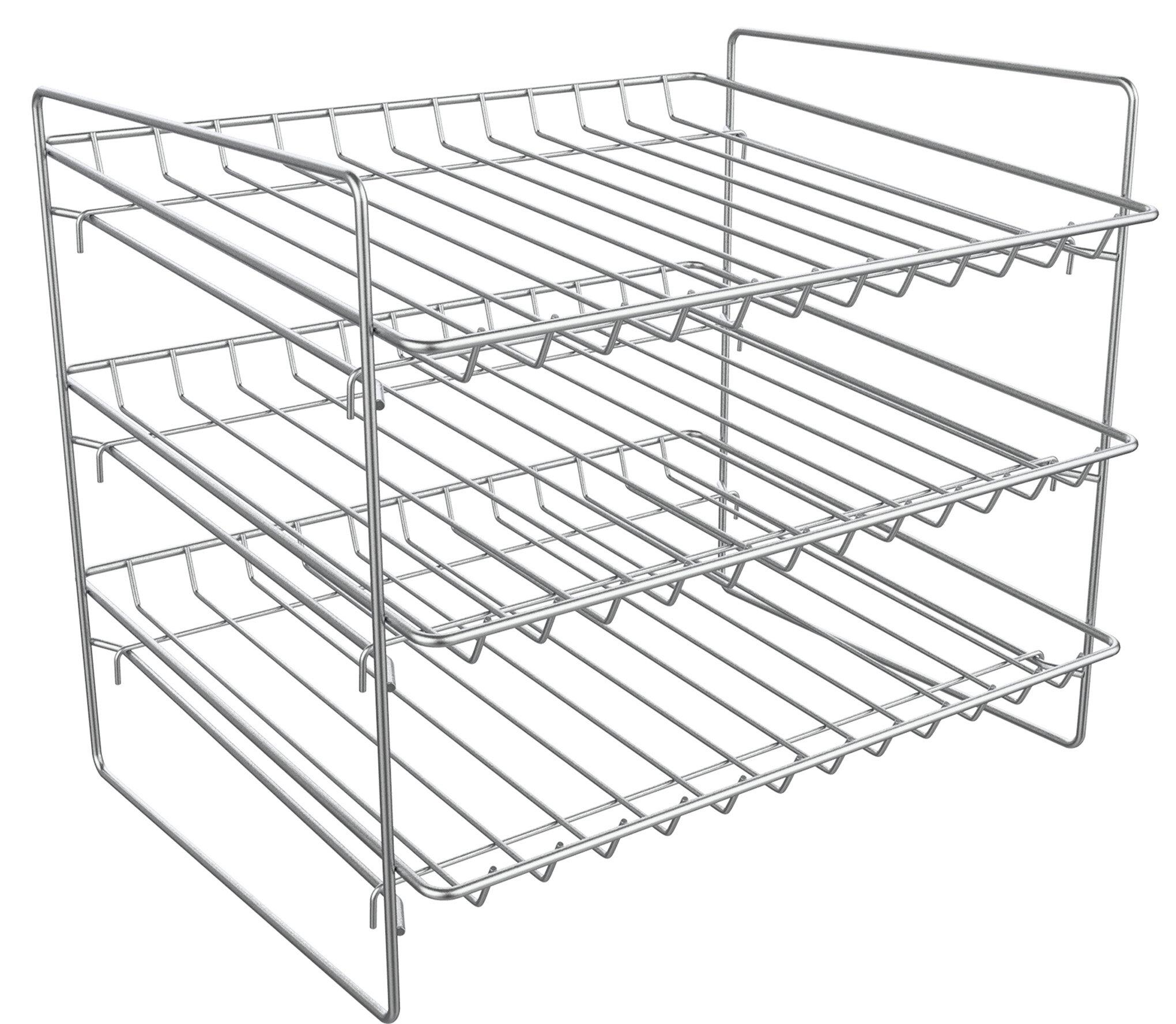 Superieur 3 Tier Can Dispenser Storage Rack