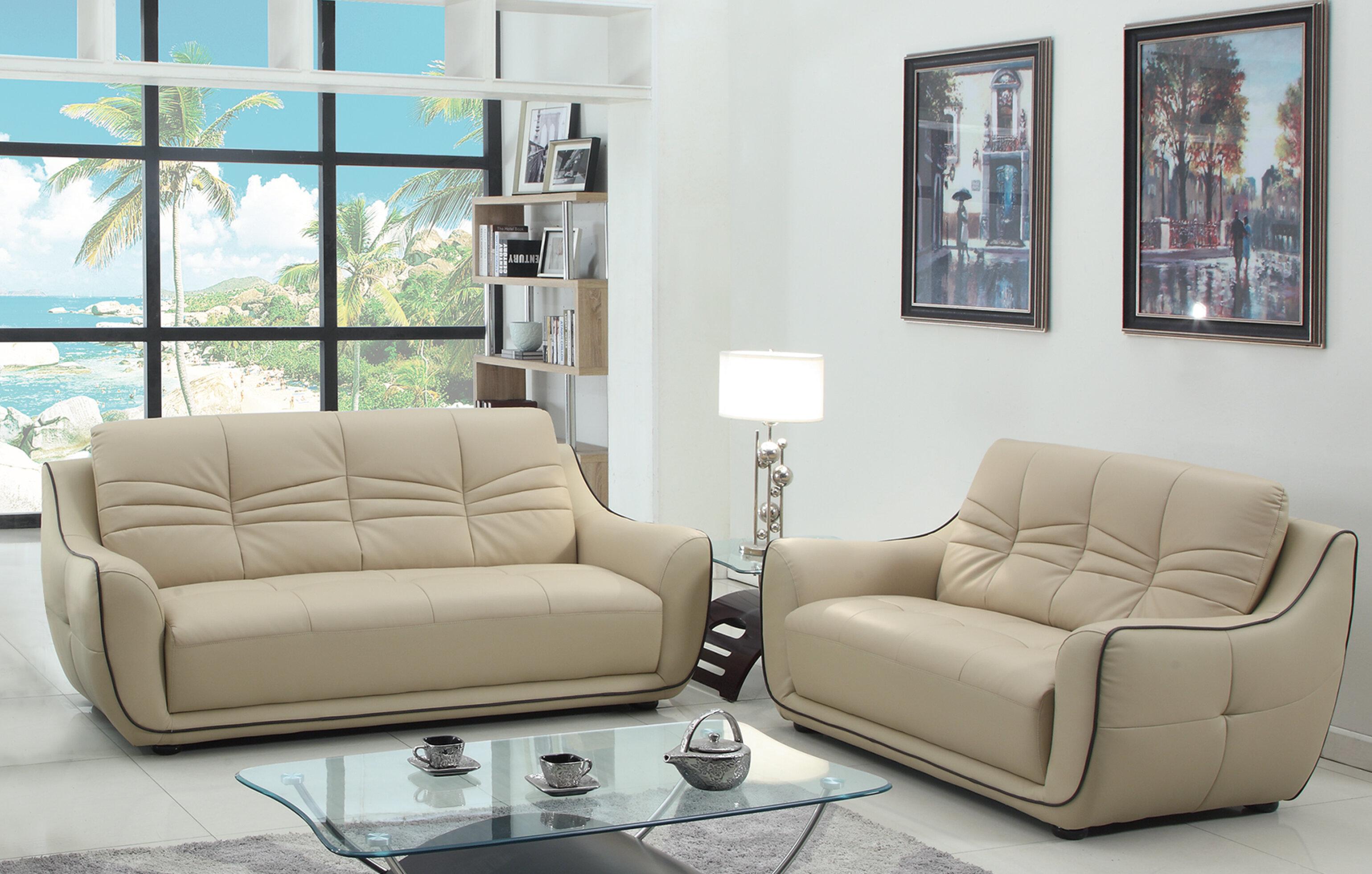 Aubree 2 Piece Living Room Set