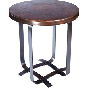 Ana Basketweave Strap End Table