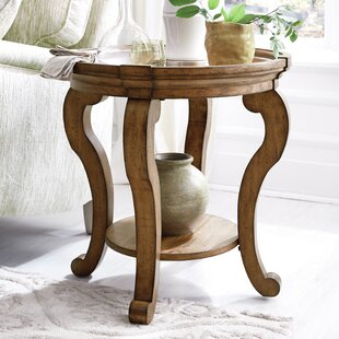 Porter Circular Top End Table