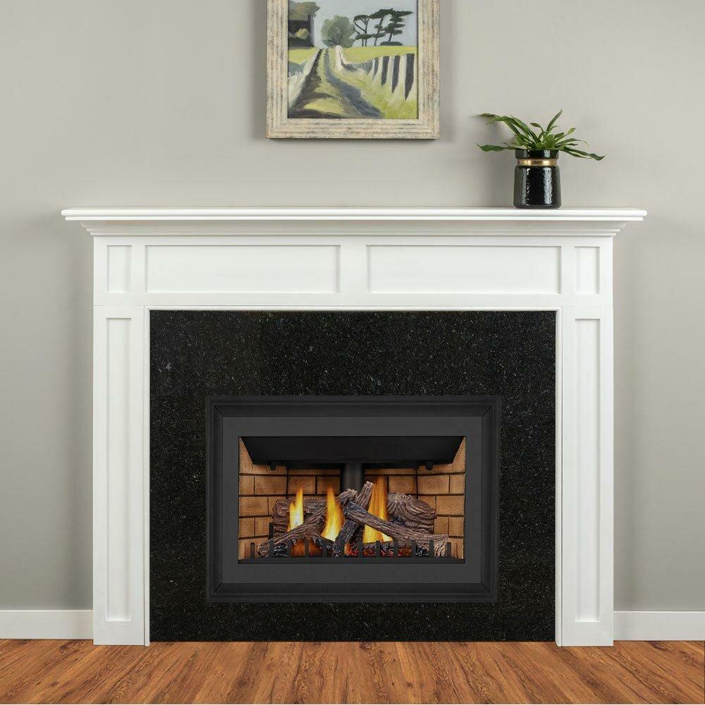 Mantels Direct Harrison Surround Wood Fireplace Surround Wayfair