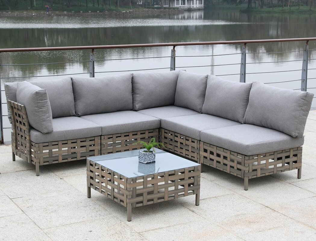 Alvinston 6 Piece Sectional Seating Group with Cushion : 6 piece sectional - Sectionals, Sofas & Couches