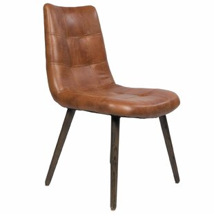 Best Choices Alamo Genuine Leather Upholstered Dining Chair by Joseph Allen Reviews (2019) & Buyer's Guide
