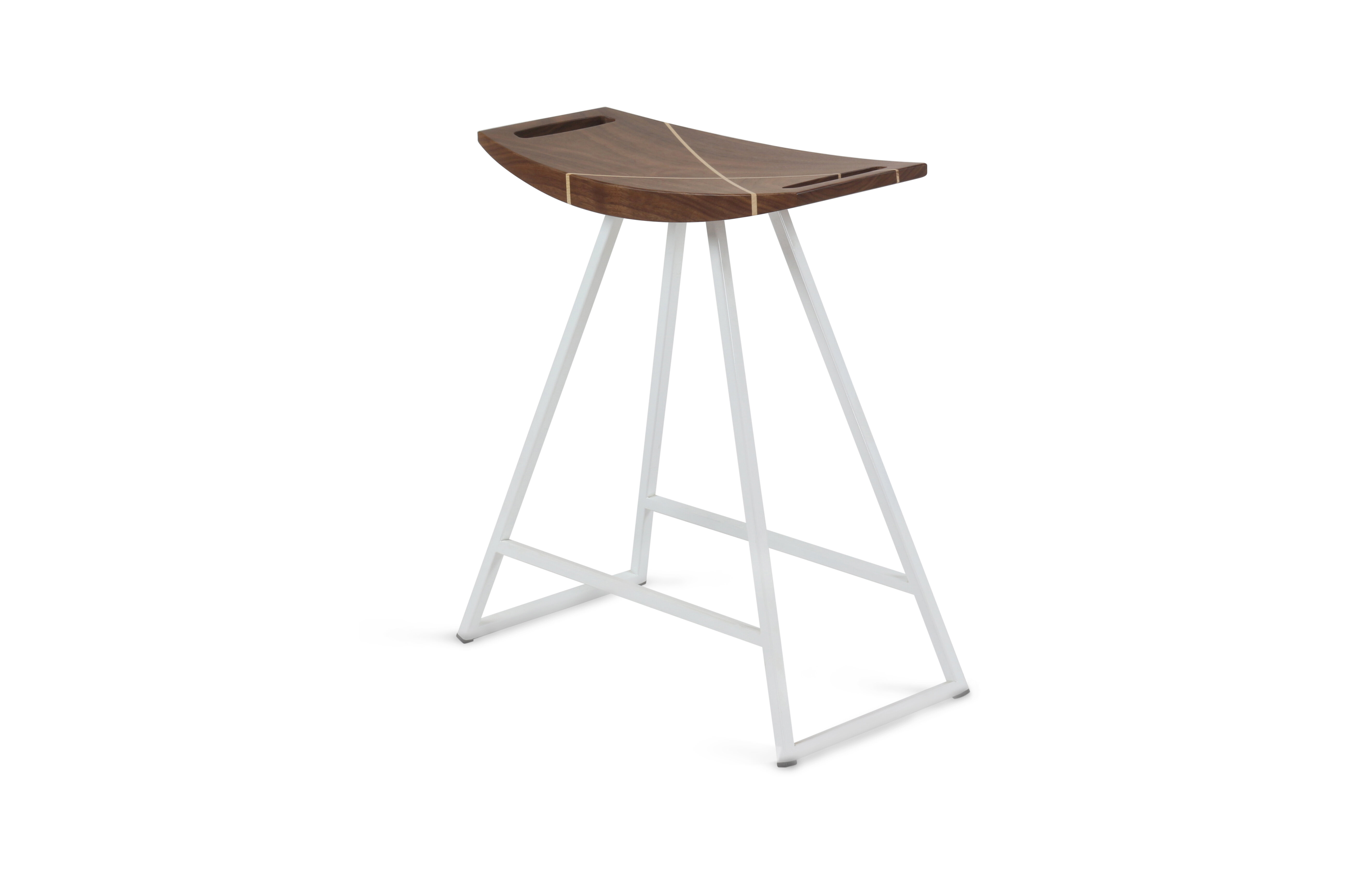 Tronk Design Roberts Solid Wood Accent Stool Perigold