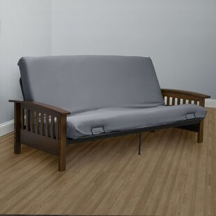 Serta Encasement Box Cushion Futon Slipcover