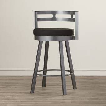 Three Posts Haslingden Solid Wood 24 Counter Stool Reviews Wayfair