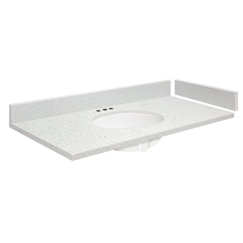Transolid Madison 43 1 Bathroom Vanity Top Wayfair