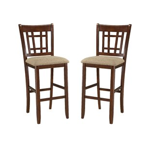 Purchase Whisman 30 Bar Stool (Set of 2) by Millwood Pines Reviews (2019) & Buyer's Guide