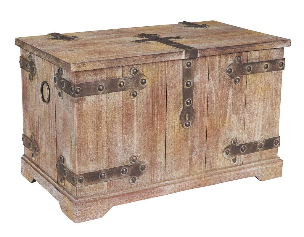 Home Decor Wayfair Household Essentials Large Victorian Storage Trunk