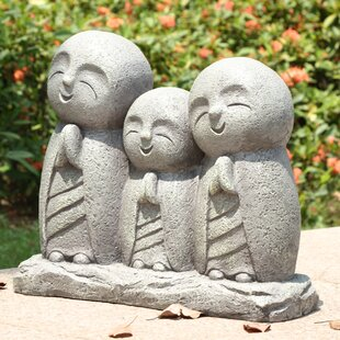 Hi-Line Gift Ltd. Praying Lucky Japanese Jizo Family Statue